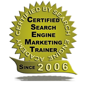 Search Engine Academy Certified Trainer